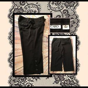 ✂️👖 CATO Dress Capris